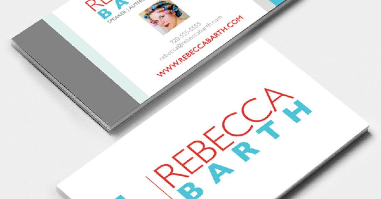 Rebecca Barth business card