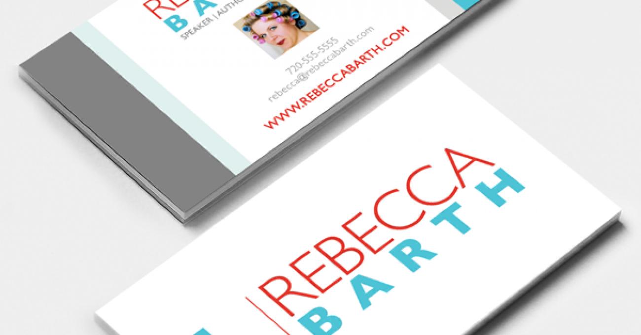 Rebecca Barth business card