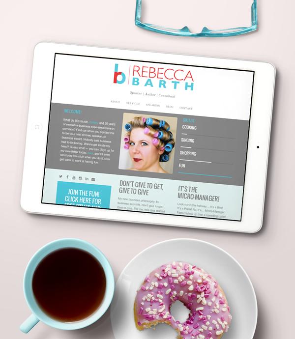 Rebecca Barth website