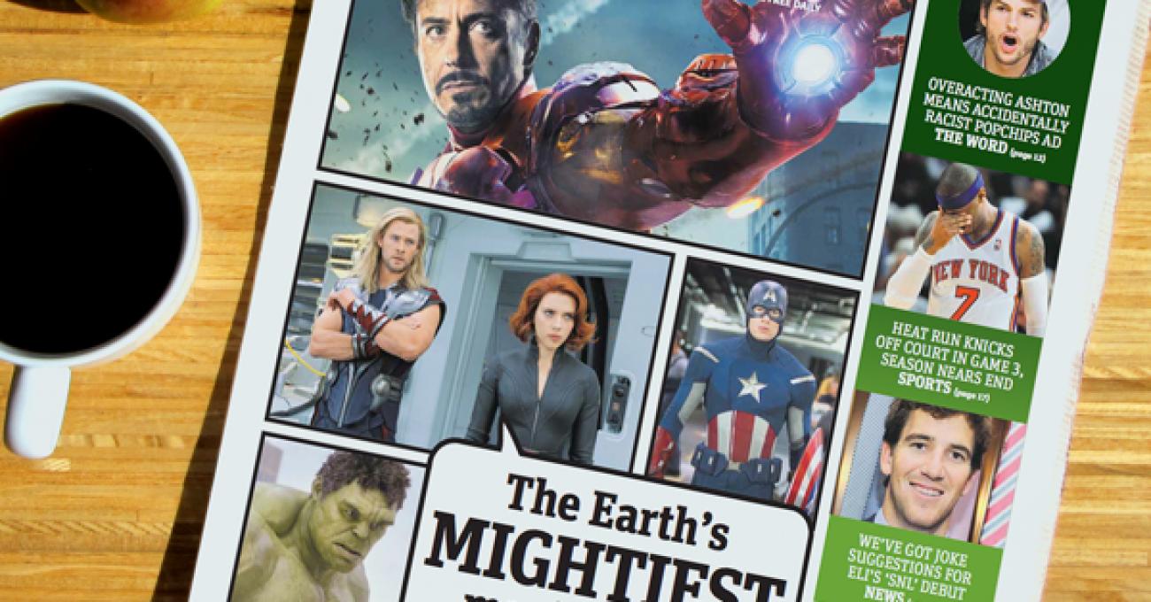 Metro Avengers cover
